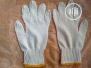 Cotton Safety Hand Gloves White Color. | Safety Equipment for sale in Lagos State, Apapa