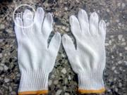 Cotton Safety Hand Gloves White Color. | Safety Equipment for sale in Lagos State, Egbe Idimu