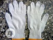 Cotton Safety Hand Gloves White Color. | Safety Equipment for sale in Lagos State, Epe