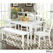 IJEOMA 6-seat Solid Wood Dining Set With Bench | Furniture for sale in Lagos State, Ajah