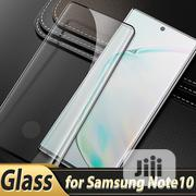 Galaxy Note 10 +/ Note 10 Dome Glass Tempered Glass Screen Protector | Accessories for Mobile Phones & Tablets for sale in Lagos State, Ikeja