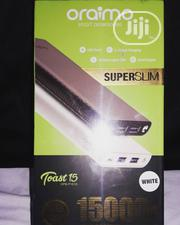 Oraimo Super Slim Power Bank 15000mah | Accessories for Mobile Phones & Tablets for sale in Lagos State, Ikotun/Igando