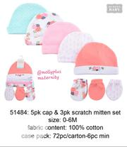 Baby Cap Mittens | Children's Clothing for sale in Lagos State, Ajah