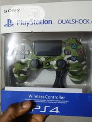 Ps4 Controller _ Green Camouflage | Video Game Consoles for sale in Lagos State, Ikeja