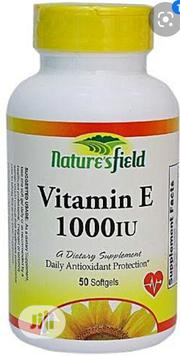 Nature's Field Vitamin E 1000IU | Vitamins & Supplements for sale in Lagos State, Gbagada