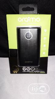 Oraimo 6000 Mah Led Display Powerbank - Dual Charging Portled Torch | Accessories for Mobile Phones & Tablets for sale in Lagos State, Ikotun/Igando