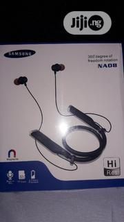 Samsung NA08 Bluetooth Neckband (Earbuds With Microphone) | Headphones for sale in Lagos State, Ikotun/Igando
