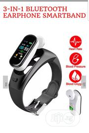 3-in-1 Bluetooth Earphone Smartband | Headphones for sale in Lagos State, Ikeja