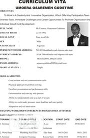 Office Job | Office CVs for sale in Edo State, Ekpoma
