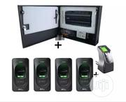 ZKT 4 Doors Inbio460 Controller Kits 30,000 Access Cards/3,000 Fingers   Computer Accessories  for sale in Lagos State, Ikeja