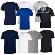 Rukari Round Neck And V-neck Combo T-shirts (Pack Of 9) | Clothing for sale in Abuja (FCT) State, Central Business District