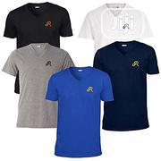 Rukari Crested V-Neck T-Shirt Pack of Five | Clothing for sale in Abuja (FCT) State, Wuse II
