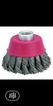 """Wire Cap Brush 4"""" 