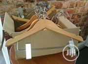 Wooden Clothes Hangers With Stainless Peg | Home Accessories for sale in Lagos State, Lagos Island
