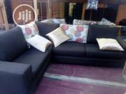 L Shape Chair With Throw Pillows   Home Accessories for sale in Lagos State, Ajah