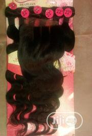 Original Brazilian With Closure | Hair Beauty for sale in Ondo State, Akure