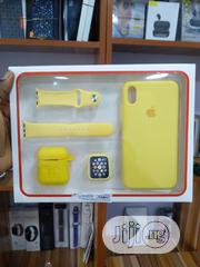 Complet Apple Pouch For iPhone X Watch And Airpod | Smart Watches & Trackers for sale in Rivers State, Port-Harcourt