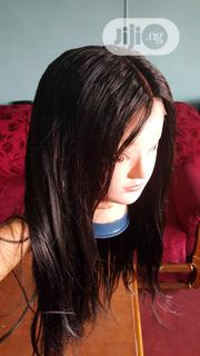 20inches Black Wig With Closure | Hair Beauty for sale in Imo State, Owerri