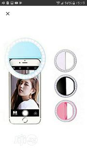 Rechargable Selfie Ring Light For All Smart Phones | Accessories for Mobile Phones & Tablets for sale in Lagos State, Ipaja