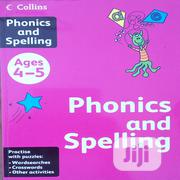 Collins Phonics And Spelling (4-5 Ages) | Books & Games for sale in Rivers State, Port-Harcourt