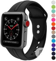 Silicon Wristband For Apple Watch (Iwatch) | Smart Watches & Trackers for sale in Lagos State, Ikeja