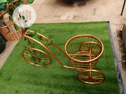 Gold Colour Tricycle Planter Stand For Garden,Homes & Offices | Manufacturing Services for sale in Enugu State, Enugu South