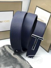 Tom Ford Unisex Leather Belt Blue Color Order Yours Now | Clothing Accessories for sale in Lagos State, Lagos Island