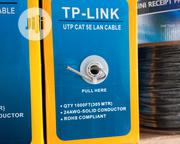 TP - Link UTP CAT 5E LAN Cable 24AWG- Solid Conductor 1000FT(Meters) | Computer Accessories  for sale in Lagos State, Lagos Mainland