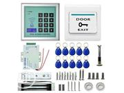 Keypad RFID Access Control+ Door Maglolock+ LZ Bracket +, Fob, Exit   Computer Accessories  for sale in Lagos State, Ikeja