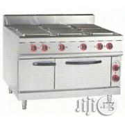 6plate Industrial Electric Cooker With Oven | Restaurant & Catering Equipment for sale in Lagos State, Ojo