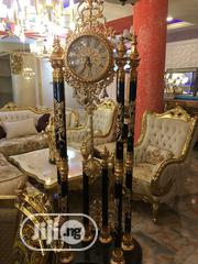 Classic Durable Standing Golden Clock | Home Accessories for sale in Lagos State, Ojo