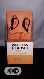 Oraimo Sport Wireless Stereo Headset With Mic- EB-01XR | Accessories for Mobile Phones & Tablets for sale in Lagos State, Ikotun/Igando