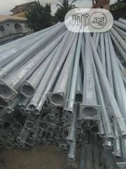 8 Meter Galvanized Solar Street Light Pole 6, 8, 10, 12meters In Stock | Solar Energy for sale in Lagos State, Amuwo-Odofin