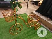 Casted Wrought Iron Tricycle Planter Stand For Sale | Manufacturing Services for sale in Edo State, Egor