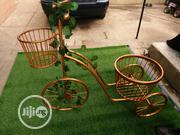 Crafted Iron Tricycle Planter Vase Stand For Beautification Of Homes | Landscaping & Gardening Services for sale in Imo State, Owerri-Municipal