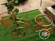 Quality Wrought Casted Iron Tricycle Planter Stand For Decor Of Homes | Garden for sale in Jigawa State, Dutse-Jigawa