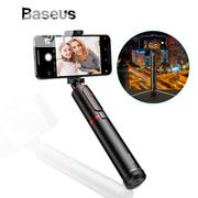 Baseus Fully Folding Selfie Stick Bluetooth Phone Tripod Stand | Accessories for Mobile Phones & Tablets for sale in Lagos State, Ikeja