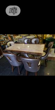 Marble Dining Table With Chairs | Furniture for sale in Lagos State, Ojo