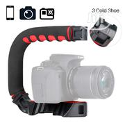 U-grip Pro Handheld Video Rig Steadicam With Triple Cold Shoe | Photo & Video Cameras for sale in Lagos State, Ikeja