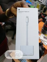 Iightning Av To HDMI Adapter (iPhone To Hdmi Converter) | Accessories & Supplies for Electronics for sale in Lagos State, Ikeja