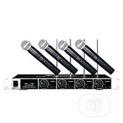 4 In 1 Wireless Microphone | Audio & Music Equipment for sale in Lagos State, Mushin