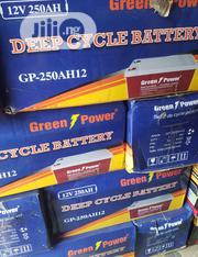 12vos 250hams Green Power Battery Is Now Available With Two Year Warty | Solar Energy for sale in Lagos State, Ojo