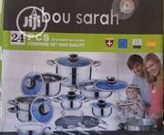 Abou Sarah Cookware 24 Set Of Solid Cooking Utensils | Kitchen & Dining for sale in Abuja (FCT) State, Jahi