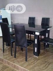 A New Plain Turkey Six Seater Glass Dining Table   Furniture for sale in Lagos State, Victoria Island