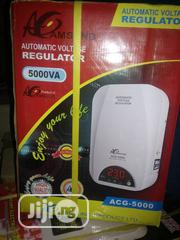 5000VA Amsung Wall Mount Automatic Voltage Stabilizer | Electrical Equipments for sale in Lagos State, Ojo
