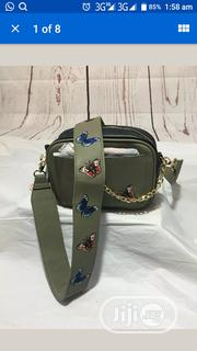 NWT DREAM CONTROL -Olive Green and Black Vegan Leather Butterfly Purse | Bags for sale in Lagos State, Lekki Phase 1