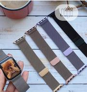 Apple Watch Strap Stainless Steel, (Magnetic Buckle)   Accessories for Mobile Phones & Tablets for sale in Lagos State, Ikeja