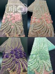 Lace With Pearl Highlights | Wedding Wear for sale in Rivers State, Port-Harcourt