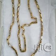 Tested 18krt Solid Gold Grandnut Design Long Length | Jewelry for sale in Lagos State, Lagos Island
