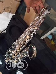 Yamaha New Quality Alto Saxophone With Mouthpiece, Belt & Sax Stand | Musical Instruments & Gear for sale in Lagos State, Ojo